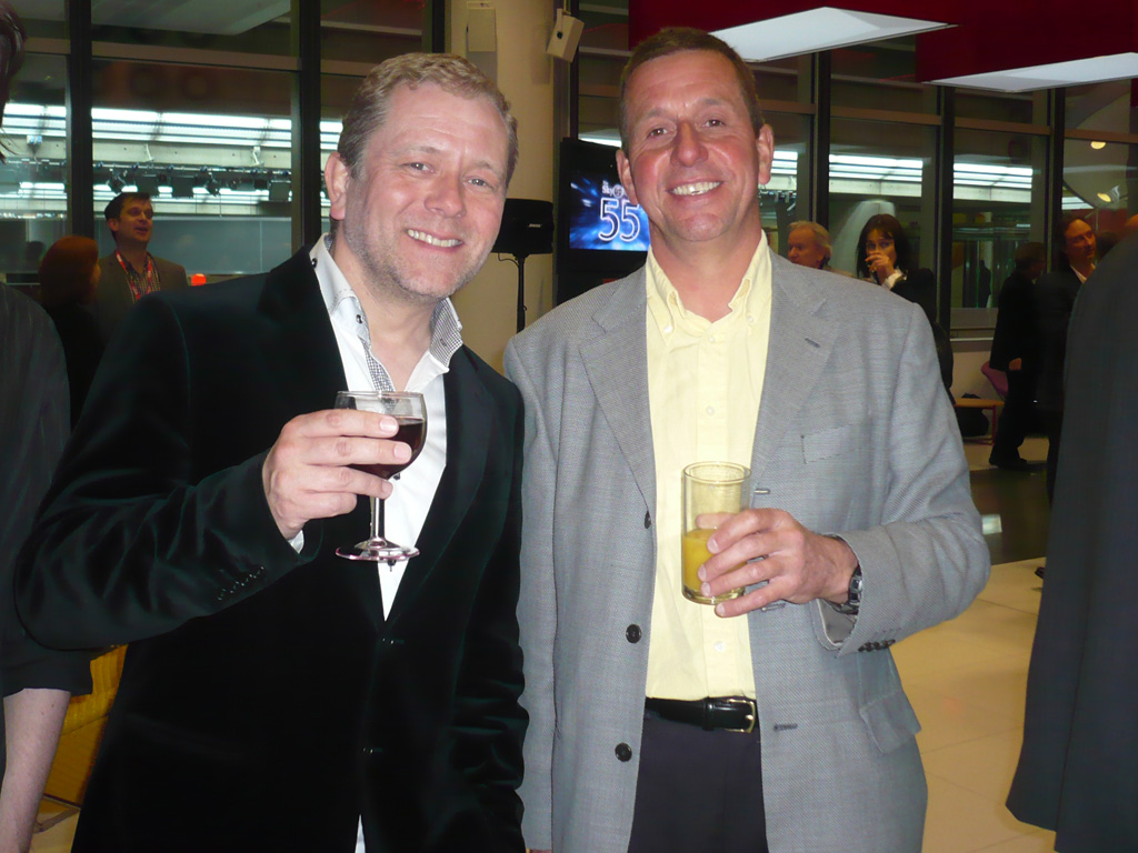 With John Culshaw
