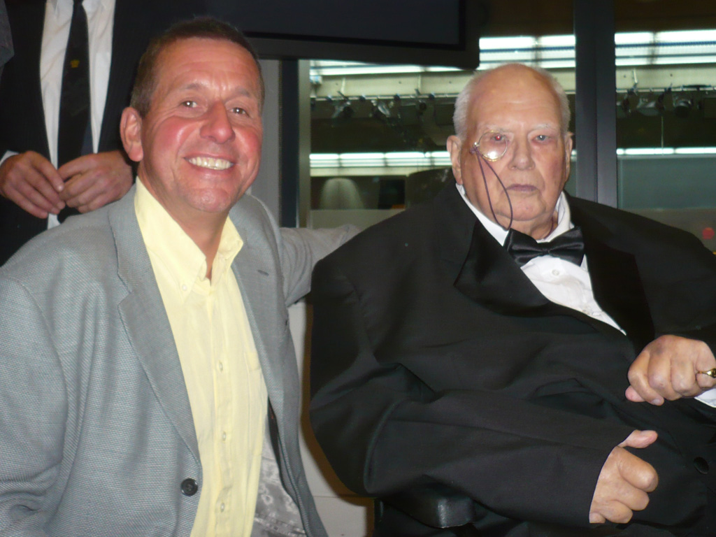 Me with Sir Patrick Moore